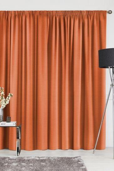 Soho Paprika Orange Made To Measure Curtains