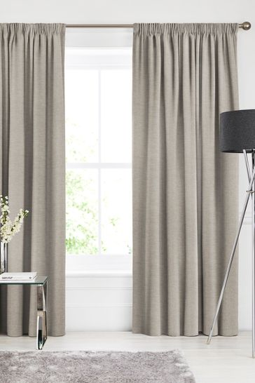 Soho Sand Natural Made To Measure Curtains