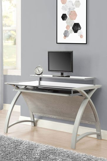 Helsinki 1300 Grey Desk By Jual