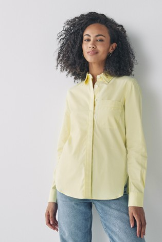 Lemon Oxford Shirt