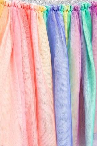 Multi Rainbow Tutu (3mths-8yrs)