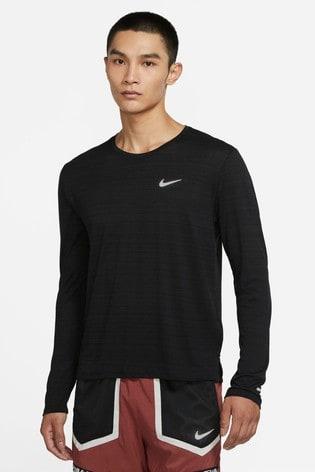 Nike Dri-FIT Long Sleeve Miler Running Top