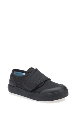 Start-Rite Black Skip Shoes