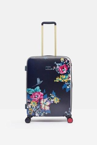 Joules Cambridge Floral Suitcase Medium
