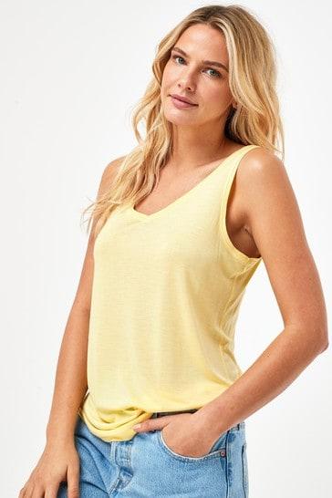 Lemon Slouch Vest