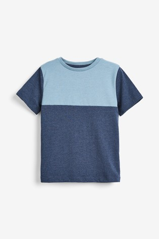 Blue 3 Pack Stripe Short Pyjamas (3-16yrs)