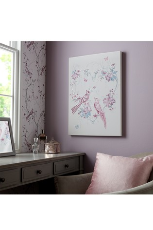 Elegant Songbirds Canvas by Art For The Home