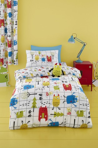 Cosatto Monster Mob Duvet Cover and Pillowcase Set