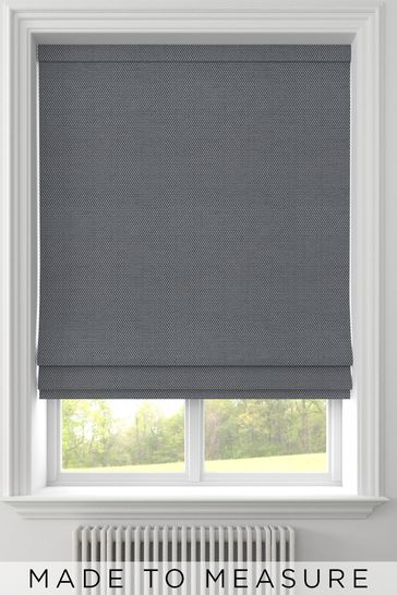 Craven Graphite Grey Made To Measure Roman Blind