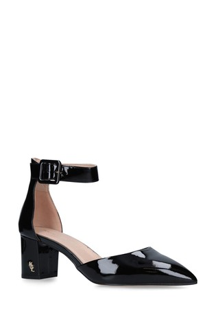 Kurt Geiger London Burlington Black Court Shoes