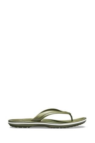 Crocs™ Blue Crocband Flip Flops