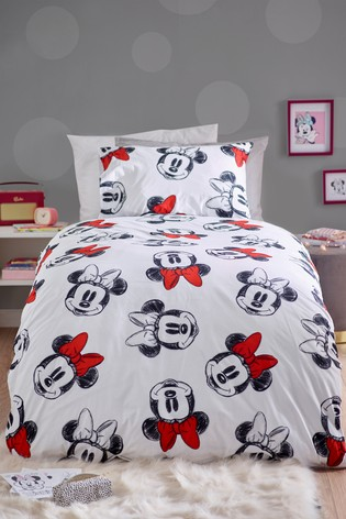 Disney™ Minnie Mouse™ Reversible Duvet Cover and Pillowcase Set