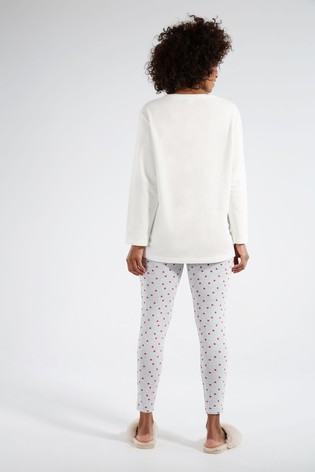 F&F Cream Eeyore Pyjama Set