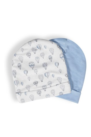 aden + anais Blue Up Hot Air Balloons Hats Two Pack