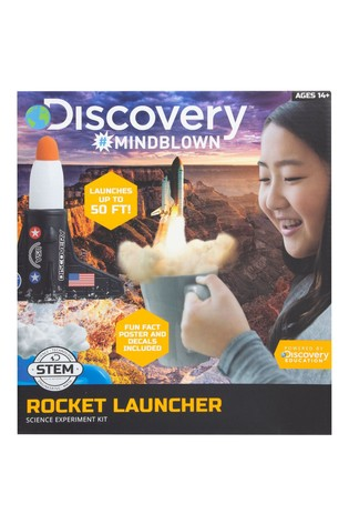 Discovery Mindblown Toy Kids Science Rocket Kit
