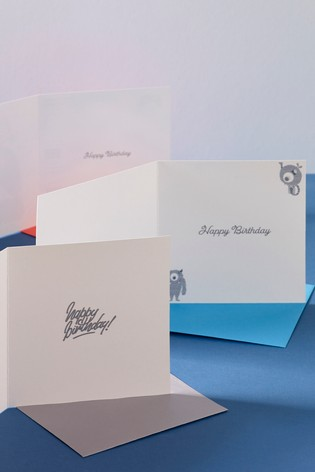 6 Pack Mixed Birthday Cards