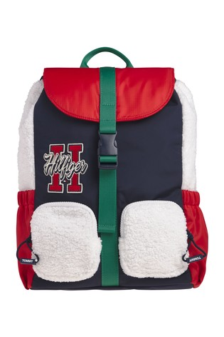 Tommy Hilfiger White Youth Teddy Backpack
