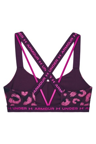 Under Armour X Back Low Impact Printed Bra