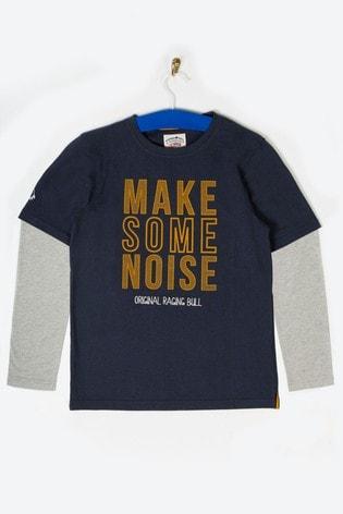 Raging Bull Navy Make Some Noise T-Shirt