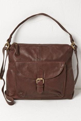 FatFace Chocolate Sophie Shoulder Bag