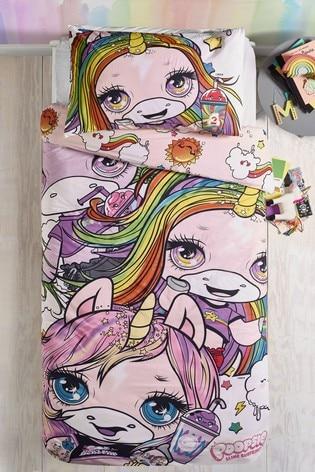 Poopsie Unicorn Reversible Duvet Cover and Pillowcase Set