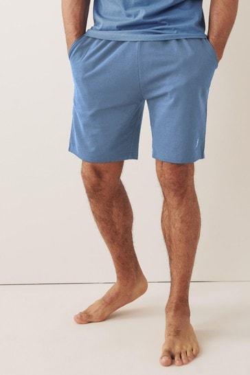 Blue Shorts Lightweight Loungewear