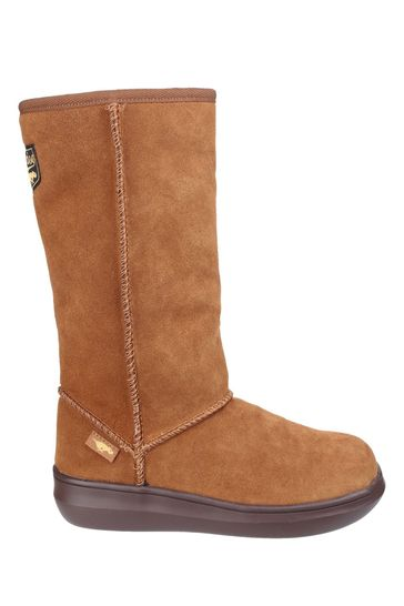 Rocket Dog Tan Sugardaddy Pull-On Boots