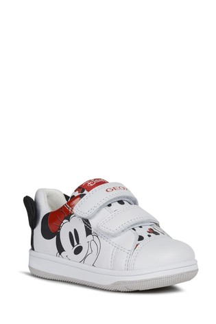 Geox Baby Girl's New Flick White Shoes