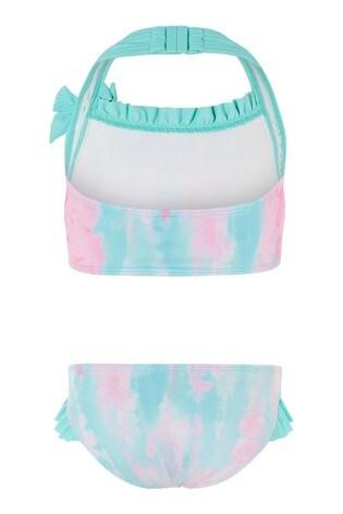 Monsoon Pink Tie Dye Bikini Set