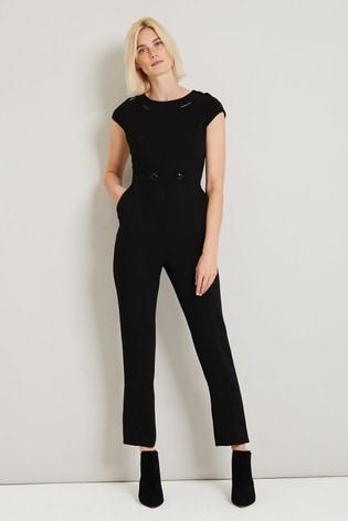 Damsel In A Dress Black Margot City Suit Jumpsuit