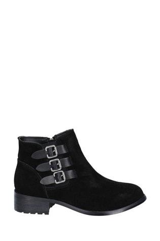 Divaz Lexi Slip-On Buckle Boots