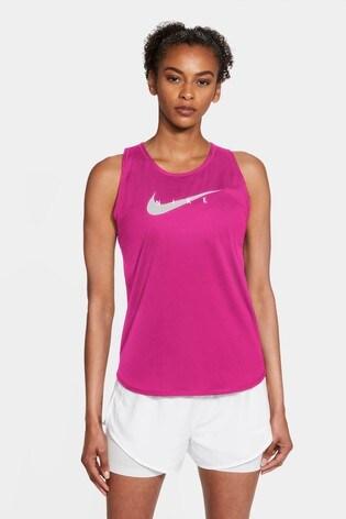 Nike Berry Swoosh Run Vest