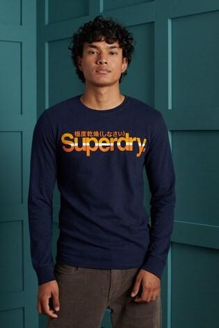 Superdry Core Logo Vintage Stripe Top