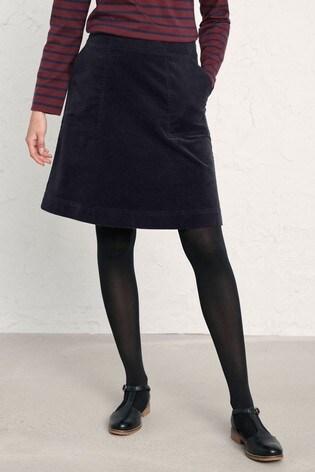 Seasalt Blue Dark Night Mays Rock Skirt