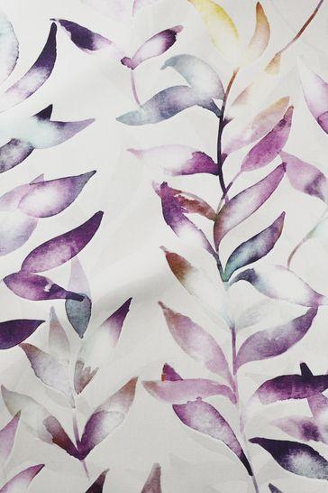Asara Heather Purple Made To Measure Roman Blind