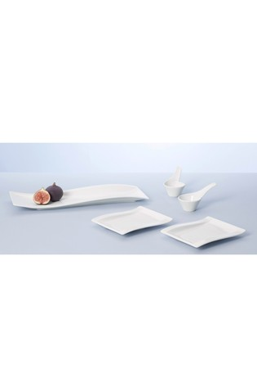 5 Piece Villeroy & Boch White NewWave Antipasti Serveware Set