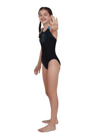 Speedo® Tech Placement Swimsuit