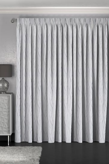 Legna Flint Grey Made To Measure Curtains