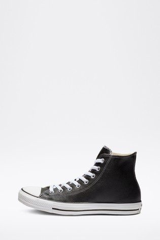 Converse Leather High Trainers