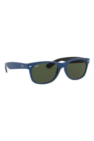 Ray-Ban® Blue/Black Wayfarer Sunglasses