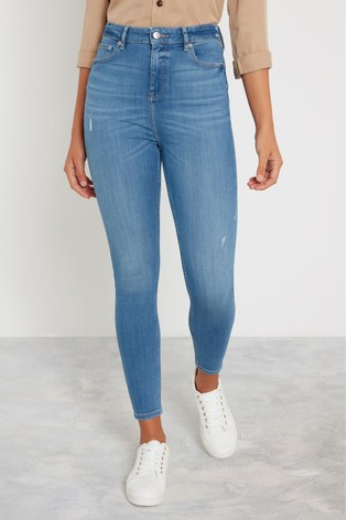 F&F Mid Wash Contour Jeans