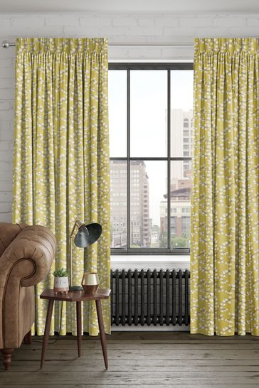 Gilley Apple Yellow Made To Measure Curtains