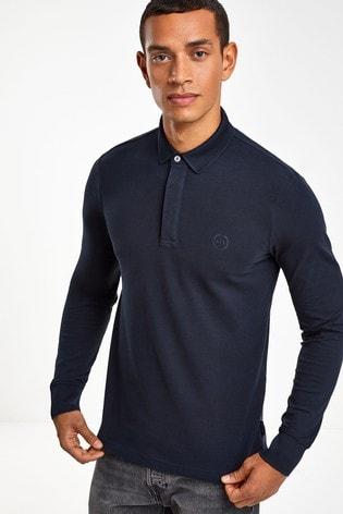 Armani Exchange Long Sleeve Polo