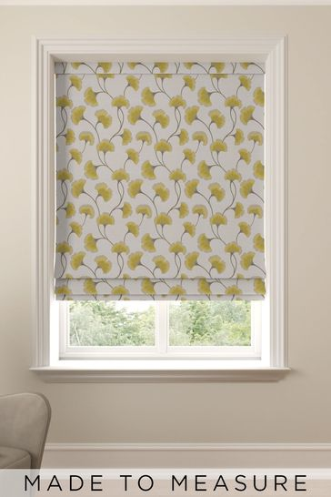 Darnley Sunflower Yellow Made To Measure Roman Blind