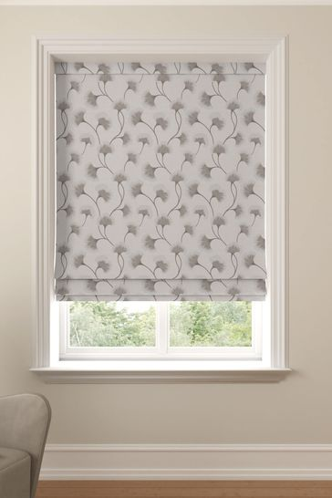 Sand Grey Darnley Made To Measure Roman Blind