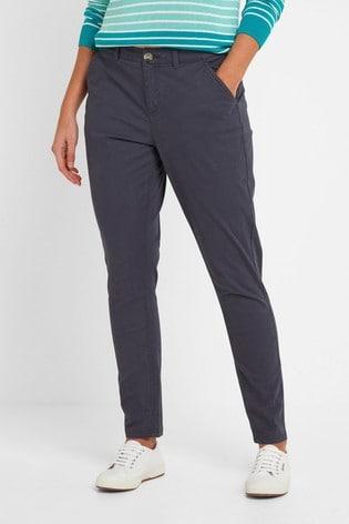 Tog 24 Womens Blue Pickering Short Chino Trousers
