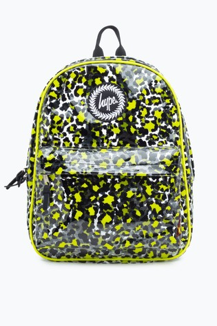 Hype. Yellow Clear Backpack