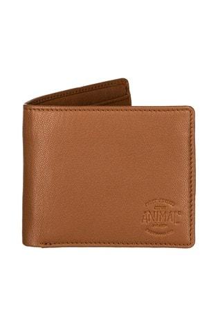 Animal Tan Turmoil 2 Leaf Wallet