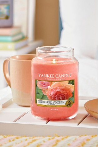 Yankee Candle Classic Large Sun Drenched Apricot Rose Candle