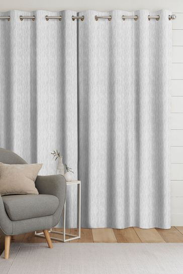 Silver Grey Kally Made To Measure Curtains